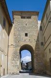 Leonardo della st di Porta. Montefalco. L'Umbria. Fotografie Stock