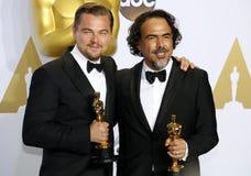 Leonardo DiCaprio and Alejandro Gonzalez Inarritu Stock Photography