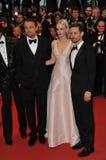 Leonardo DiCaprio & Carey Mulligan & Tobey Maguire Stock Images
