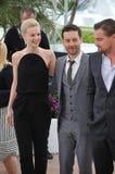 Leonardo DiCaprio & Carey Mulligan & Tobey Maguire Royalty Free Stock Photos