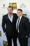 Leonardo DiCaprio & Jonah Hill Fotografering för Bildbyråer