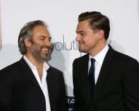 Leonardo DiCaprio,Sam Mendes Stock Photos