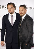 Leonardo DiCaprio and Tom Hardy Royalty Free Stock Photo