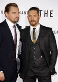 Leonardo DiCaprio and Tom Hardy Royalty Free Stock Photos