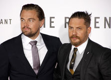 Leonardo DiCaprio and Tom Hardy Royalty Free Stock Images