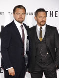 Leonardo DiCaprio and Tom Hardy Royalty Free Stock Image