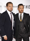 Leonardo DiCaprio and Tom Hardy Stock Photos