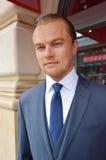 Leonardo DiCaprio Wax Figure Royaltyfri Foto