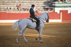 Leonardo Hernandez, bullfighter on horseback spanish Stock Photography
