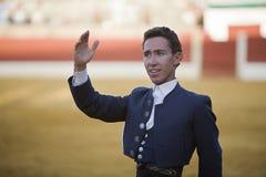 Leonardo Hernandez, bullfighter on horseback spanish Stock Image