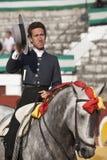 Leonardo Hernandez, bullfighter on horseback spanish Stock Photos