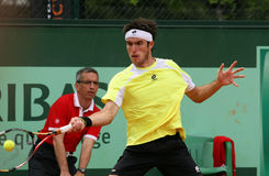 Leonardo Mayer (ARG) at Roland Garros 2011 Royalty Free Stock Photography