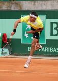 Leonardo Mayer (ARG) at Roland Garros 2011 Stock Photography