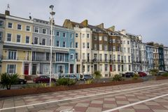 Leonards-на-море St, Hastings, восточное Сассекс, Англия, Великобритания стоковая фотография