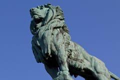 Leone Bronze Fotografia Stock Libera da Diritti