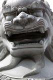 Leone cinese Immagine Stock