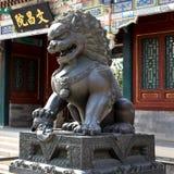 Leone cinese Fotografie Stock