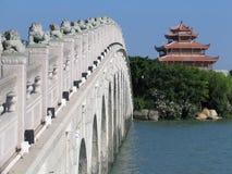 Leone cinese Fotografia Stock Libera da Diritti