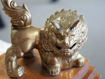 Leone cinese ornamentale Fotografie Stock