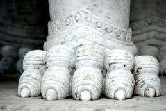 Leone di marmo Fotografia Stock