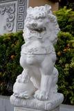 Leone di pietra di Oriente Fotografia Stock