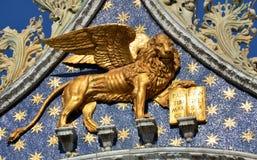 Leone di San Marco Royalty Free Stock Photos