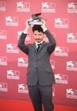Leone dorato, settantesimo festival cinematografico di conquista di Venezia Immagine Stock Libera da Diritti