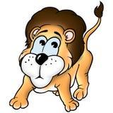 Leone e scimmia Fotografie Stock Libere da Diritti