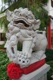 Leone imperiale cinese o leone del guardiano Immagini Stock