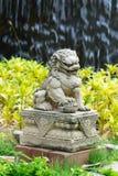 Leone imperiale cinese, pietra del leone del guardiano, stile cinese nel 'chi' Immagine Stock