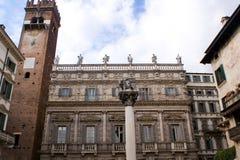 Leone Marciano a Verona, Italia Fotografia Stock Libera da Diritti