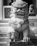 Leones de piedra Foto de archivo