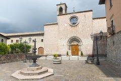 Leonessa (Rieti, Itália) Imagens de Stock