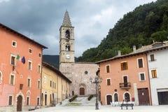 Leonessa (Rieti, Italy) Royalty Free Stock Photography