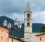 Leonessa (Rieti, Italy) Royalty Free Stock Photo