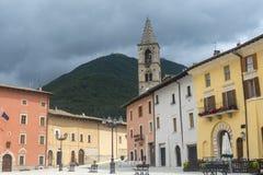 Leonessa Rieti, Włochy (,) Zdjęcia Royalty Free
