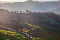 Leonforte countryside, Sicily Stock Image