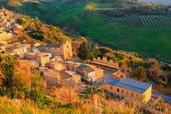 Leonforte, Sicilia Imagenes de archivo