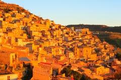 Leonforte, Sicilia Fotos de archivo