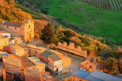 Leonforte, Sicilia Fotografía de archivo