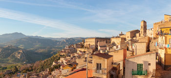 Leonforte, Sicily Stock Image