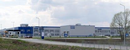 LEONI AG fabryka w Ukraina zdjęcie stock