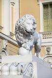 Leoni di St Petersburg Fotografia Stock Libera da Diritti