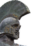 Leonidas statue from Sparta, Greece Stock Image