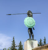 Leonidas statue, Thermopylae, Greece Royalty Free Stock Image