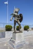 Leonidas staty Arkivfoto
