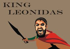 Leonidas Vector Stock Photography