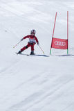 Leonor Carvalho during the Ski National Championships Stock Image