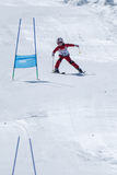 Leonor Carvalho during the Ski National Championships Royalty Free Stock Image