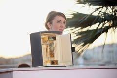 Leonor Serraille vinnare av `en för kamera D eller Royaltyfria Bilder